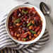 Smoky Two-Bean Vegetarian Chili Recipe