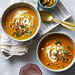 mr-Spicy Pumpkin Soup with Candied Pepitas