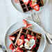 Chocolate Buckwheat Waffle with Juicy Berries