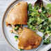 Broccoli Cheddar and Ranch Chicken Calzones Recipe