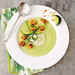 Avocado Gazpacho with Sourdough Croutons