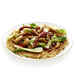 Bok Choy and Chicken Stir-Fry over Noodle Pancake Recipe