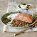 Broiled Salmon with Creamy Lemon-Dill Sauce Recipe