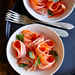 Carrot Ribbon Salad with Lavender-Ricotta Dressing