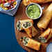 Chicken-and-Black Bean Chimichangas Recipe