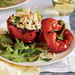 Chicken and Couscous Stuffed Bell Peppers Recipe