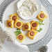 Chicken Sausage Puffs with Creamy Mustard Dipping Sauce Recipe