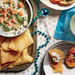 Creamy Shrimp Dip with Crispy Wonton Chips Recipe