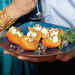 Crisp Persimmon with Ricotta, Honey, Pecans, and Mint Recipe