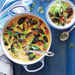 Curried Mussel Soup with Lime Slaw Recipe