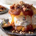Decadent Cream Puffs with Praline Sauce and Toasted Pecans Recipe