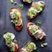Fava Bean and Mushroom Crostini Recipe