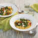 Fettuccine with Smoky Turnip Greens, Lemon, and Goat Cheese Recipe