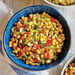 Fresh Corn Sauté with Red Pepper and Onions