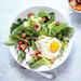 Fried Egg and Crunchy Breadcrumb Breakfast Salad