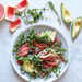 Grapefruit, Avocado, and Prosciutto Breakfast Salad
