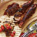 Grilled Ancho-Rubbed Pork with Smoky Tomato Salsa Recipe