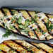 Grilled Eggplant Planks with Miso Aioli Recipe