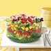 Layered Salad with Buttermilk Ranch Dressing Recipe