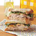 Smoked Gouda, Turkey and Arugula Sandwiches Recipe
