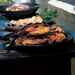 Grilled Cornish Hens with Honey Mustard-Cilantro Glaze Recipe