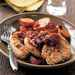 Pecan-Crusted Pork with Red Onion Marmalade and Roasted Sweet Potatoes Recipe