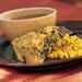 Spinach Corn Bread with Mango Salsa Recipe