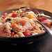 Pasta Salad with Shrimp, Peppers, and Olives Recipe