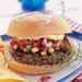 Black Bean Burgers with Spicy Cucumber and Red Pepper Relish Recipe