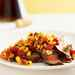 Adobo Flank Steak with Summer Corn-and-Tomato Relish Recipe