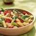 Penne, Crispy Tofu, and Green Bean Salad Recipe