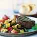 Grilled Tenderloin with Warm Vegetable Salad Recipe