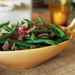 Green Beans with Roasted-Onion Vinaigrette Recipe