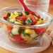 Chopped Vegetable Salad with Garlic Dressing Recipe