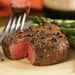 Spiced Pepper-Crusted Filet Mignon with Asparagus Recipe