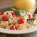 Pasta with Herbed Goat Cheese and Cherry Tomatoes Recipe