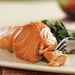 Sherry-Glazed Salmon with Collard Greens Recipe