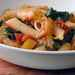 Ziti Baked with Spinach, Tomatoes, and Smoked Gouda Recipe
