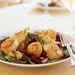 Seared Scallops with Port-Poached Figs and Apple Salad Recipe