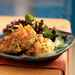 Coconut Curry Shrimp Cakes with Papaya-Lime Sauce Recipe