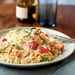 Shrimp and Orzo with Cherry Tomatoes and Romano Cheese Recipe