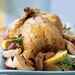 Roasted Chicken with Onions, Potatoes, and Gravy Recipe