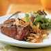 Spicy Filet Mignon with Grilled Sweet Onion Recipe