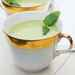 Chilled Pea Soup with Mint Pesto Recipe