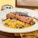 Ponzu Grilled Salmon with Golden Beet Couscous Recipe