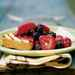 Polenta Cake with Late-Summer Berries Recipe