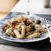 Penne with Brussels Sprouts and Crisp Bacon Recipe