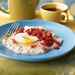 Poached Eggs with White Corn Polenta Recipe