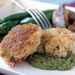Red Snapper Cakes with Avocado-Tomatillo Sauce Recipe