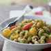 Cavatappi with Arugula Pesto and Cherry Tomatoes Recipe